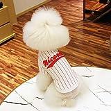 GComfort 犬 服 Tシャツ ラインストーン ロゴT 男の子 女の子 2015春夏 ドッグウェア (レッド, L)