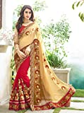Sareeshop Womens Faux Georgette Saree (Priya_001_Maroon)