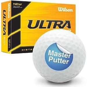 Master Putter - Wilson Ultra 500 Novelty Golf Ball