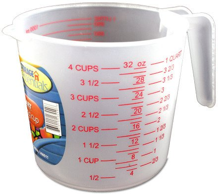 1 Quart Measuring Cup Case Pack 24 Home Kitchen Furniture Decor