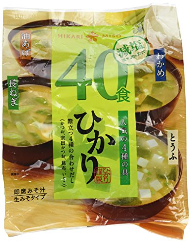 Hikari Miso _freeze-dried Miso Soup_4types 40 Sets (Miso Salt compare prices)