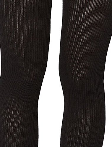 American Apparel Women's Cotton Solid Thigh-High Socks Size OS Black (Thigh Socks For Women)