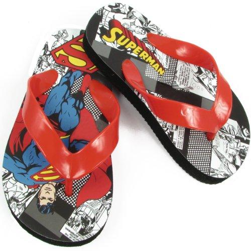 Warner Bros Superman Sus100 Flip Flop (Toddler/Little Kid),Assorted,7 M Us Toddler front-1024155