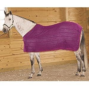 High Spirit Irish Knit Anti Sweat Sheet, Small, Purple