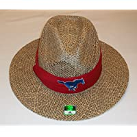 Southern Methodist Mustangs Straw Hat By Adidas - Size L/XL