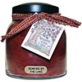 "A Cheerful Giver ""Bonfire By The Lake"" Papa Jar Candle, 34-Ounce"