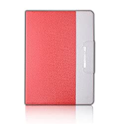 iPad Pro Case,Thankscase Business Rotating Case Cover For iPad Pro 12.9 Inch 2015 Release with Apple Pencil Holder with Wallet with Hand Strap for iPad Pro 12.9in 2015 (Coral)