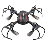 Voomall MJX X902 2.4G 4CH 6 Axis Gyro Indoor Spider Drone 3D Flip Mini RC Quadcopter with LED Night-Lights for Kids