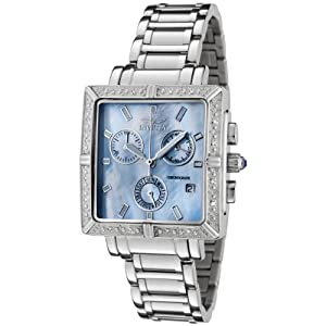 Invicta Women's 0451 Square Angel Collection Diamond Accented Chronograph Watch