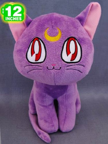 Sailor Moon: Luna Cat 12-inch Plush