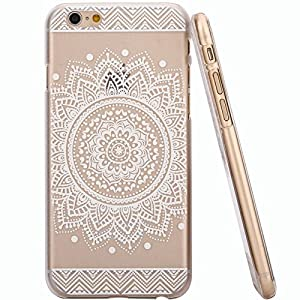 For iphone 6 , Let it be Free Plastic Case Cover for Iphone 6 Henna Full Mandala Floral Dream Catcher(For iPhone 6 4.7 inch Screen)
