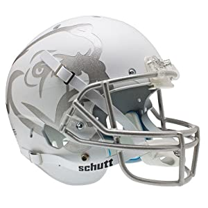 NCAA Mississippi State Bulldogs Replica XP Helmet - Alternate 1 (Matte White) by Schutt