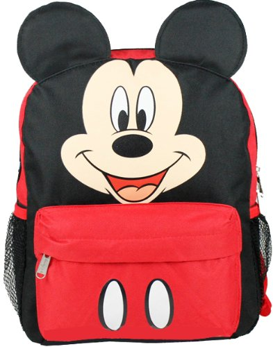 "Disney Mickey Mouse Toddler 12"" Backpack"