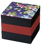 HAKOYA 布貼5.5角三段重 楽園紫 54657