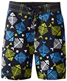Kitestrings Boys 2-7 Toddler Microfiber Fishbone Swim Trunk