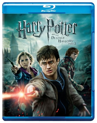 Cover art for  Harry Potter and the Deathly Hallows, Part 2 (+ UltraViolet Digital Copy) [Blu-ray]