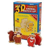 Skillofun 3D Animal Match Up Puzzle, Multi Color