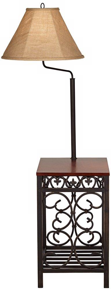 Travata End Table Floor Lamp