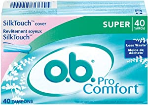 O.B.® ProComfort Regular 12/40ct