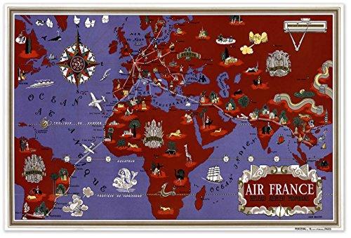 air-france-reseau-aerien-mondial-map-circa-1934-measures-36-wide-x-24-high-915mm-wide-x-610mm-high