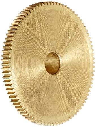 """Brass Pinion Gear 64P 20 Deg Pressure Angle 88Teeth x .250"""" Bore x 1.375"""" Pitch Dia"""