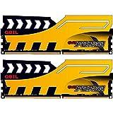 GeIL EVO FORZA DC 16GB (2 x 8GB) 288-Pin DDR4 SDRAM DDR4 2400 (PC4 19200) Desktop Memory Model GFY416GB2400C16DC
