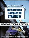 Dissertation Completion Strategies: H...