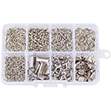 Pandahall Elite Jewelry Basics Class In A Box Kit with Lobster Clasp Jump Rings Alloy Drop End Pieces 1 Box