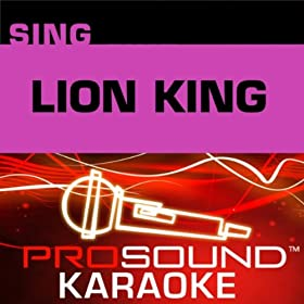Circle Of Life (Karaoke with Background Vocals) [In the Style of Elton John (Lion King)]
