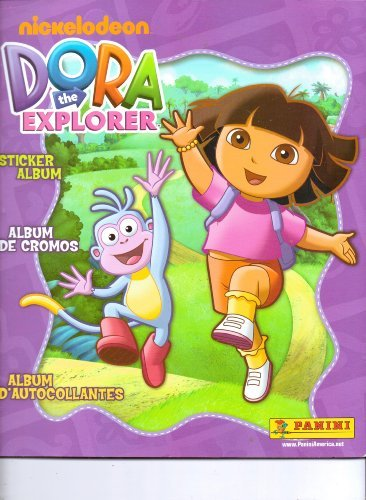 Dora the Explorer Sticker Album (Album Only, No Stickers) - 1