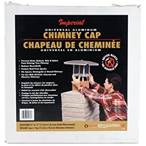 """Aluminum Adjustable Chimney Cap, 6""""-12"""""""