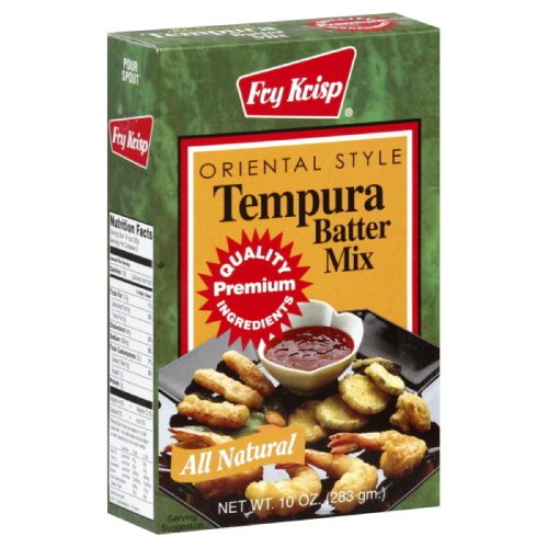 Fry Krisp Batter Mix Tempura, 10-Ounce (Pack of 12)