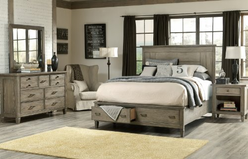 Legacy Classic Brownstone Village Bedroom Set with Queen Bed and Nightstand (Legacy Classic compare prices)