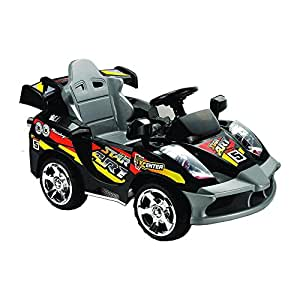 Amazon.com: Mini Motos 6V Battery Powered Car Color: Black: Sports