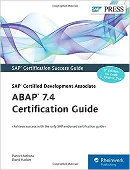 ABAP 7.4 Certification Guide - SAP Certified Development Associate