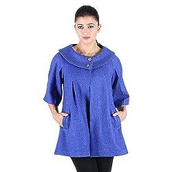 Owncraft Women's Indigo Wool Jacket 4