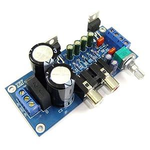 DROK TDA2030A Sereo Audio Power Amplifier Diy Kit OCL 18W+18W Dual AC 9-12V T...