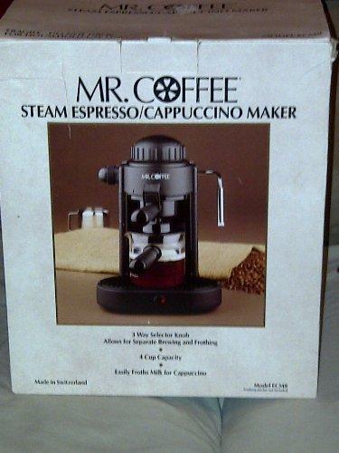 Mr.coffee Ecm8 Steam Espresso / Cappuccino Maker
