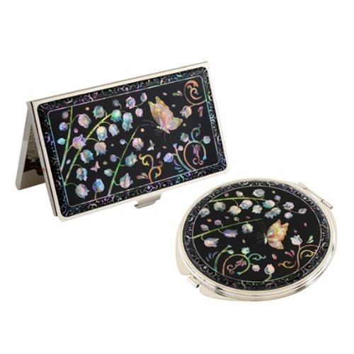 juego-de-espejo-compacto-y-tarjetero-de-madreperla-metalico-efecto-nacarado-para-dinero-tarjetas-de-
