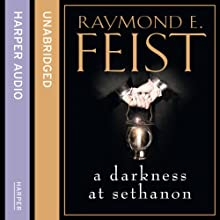 A Darkness at Sethanon Audiobook by Raymond E. Feist Narrated by Peter Joyce