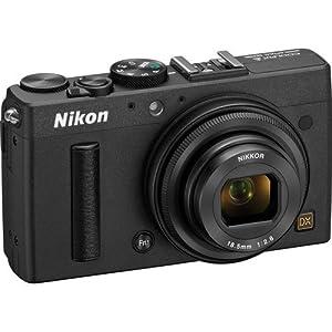 Nikon COOLPIX A 16.2 MP Digital Camera with 28mm f/2.8 Lens (Black, Import)
