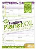 FamilienPlaner XXL 2017 Wand-Kalender, Chäff-Timer, 7...