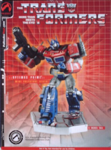 Transformers OPTIMUS PRIME Mini Polystone Statue Only 500 Produced (2004 Palisades Toys)