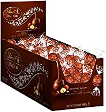 Lindt LINDOR Hazelnut Milk Chocolate Truffles, 120 Count