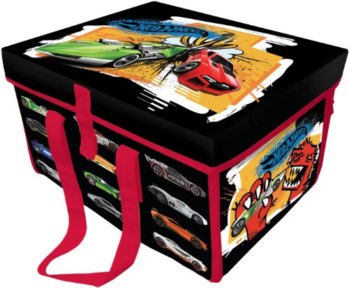 Neat-Oh! Hot Wheels ZipBin Collector Case Toy Box & Playmat