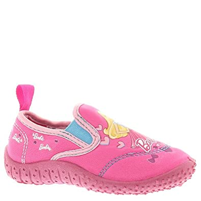 Amazon.com: Barbie Girls Pink Water Shoes BBS106: Shoes