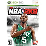 NBA 2K9 Xbox 360 Game NEW