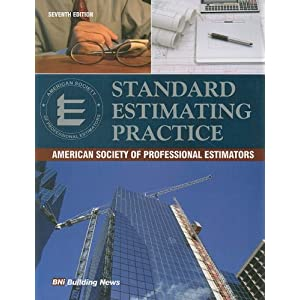 Standard Estimating Practice: American Society of Professional Estimtors