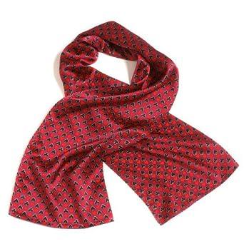 novelty silk scarf themed house at