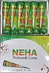 Buy 12 Neha Mehandi cone Henna Cone N...